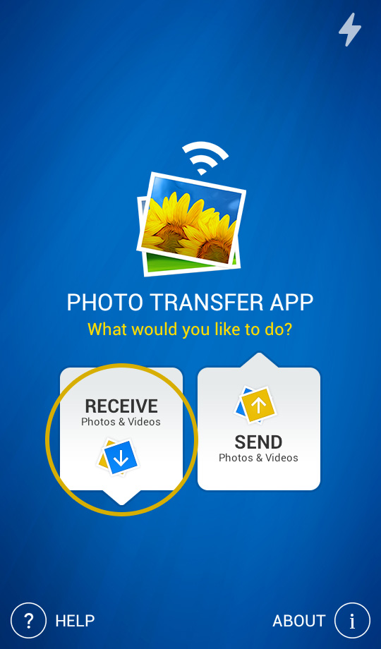 Photo Transfer App | Android Help Pages - Transfer photos from