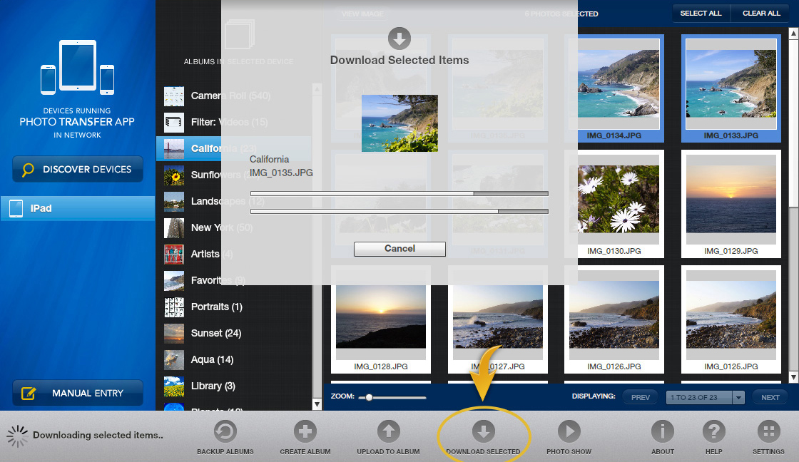 Photo Transfer App | Windows Help Pages - Transfer photos
